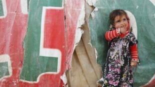 Dans un camp de la Bekaa. Le Liban accueille le plus grand nombre de réfugiés par habitant au monde.
