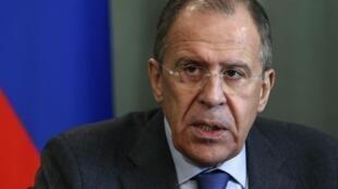 El canciller ruso, Sergueï Lavrov