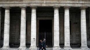 3_HEALTH-CORONAVIRUS-ITALY - Roma