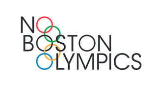 Logo for the No Boston Olympics campaign