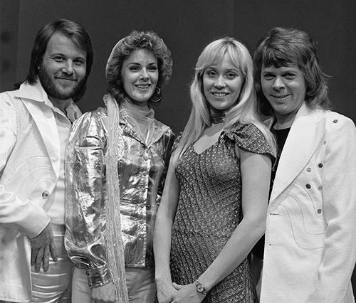 O grupo sueco ABBA.