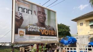 PHOTO Affiche législatives Côte d'Ivoire - 5 mars 2021