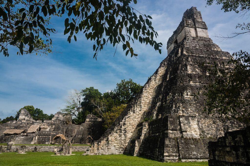 Le site archéologique maya de Tikal, au Guatemala.