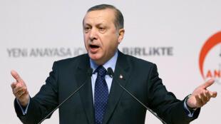El presidente turco Recep Tayyip Erdogan, el pasado 28 de enero en Ankara.