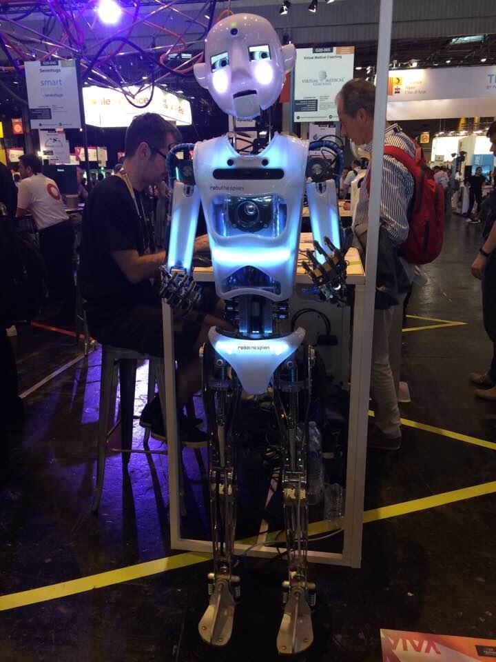 Robothespian está até no centro espacial da Nasa