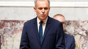 Francois de Rugy, nouveau président de l'Assemblée nationale française.