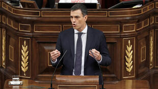 Le nouveau président du gouvernement, le socialiste Pedro Sanchez.