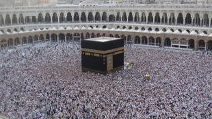 The Kaaba, during the Hajj
