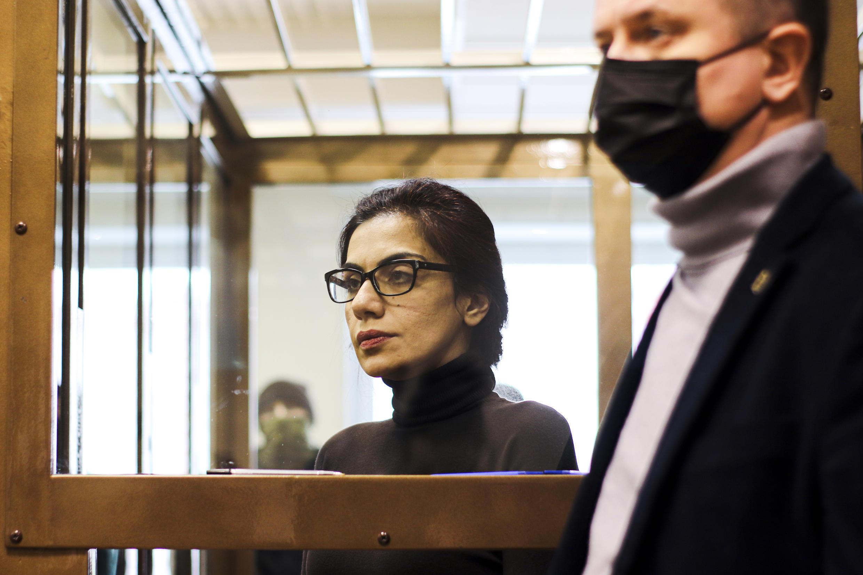 Karina Tsourkan, une ex-cheffe d'entreprise accusée d'espionnage