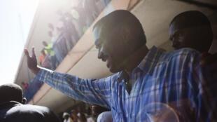 Jude Célestin est arrivé deuxième lors du premier tour de la présidentielle en Haïti, le 28 novembre 2010.
