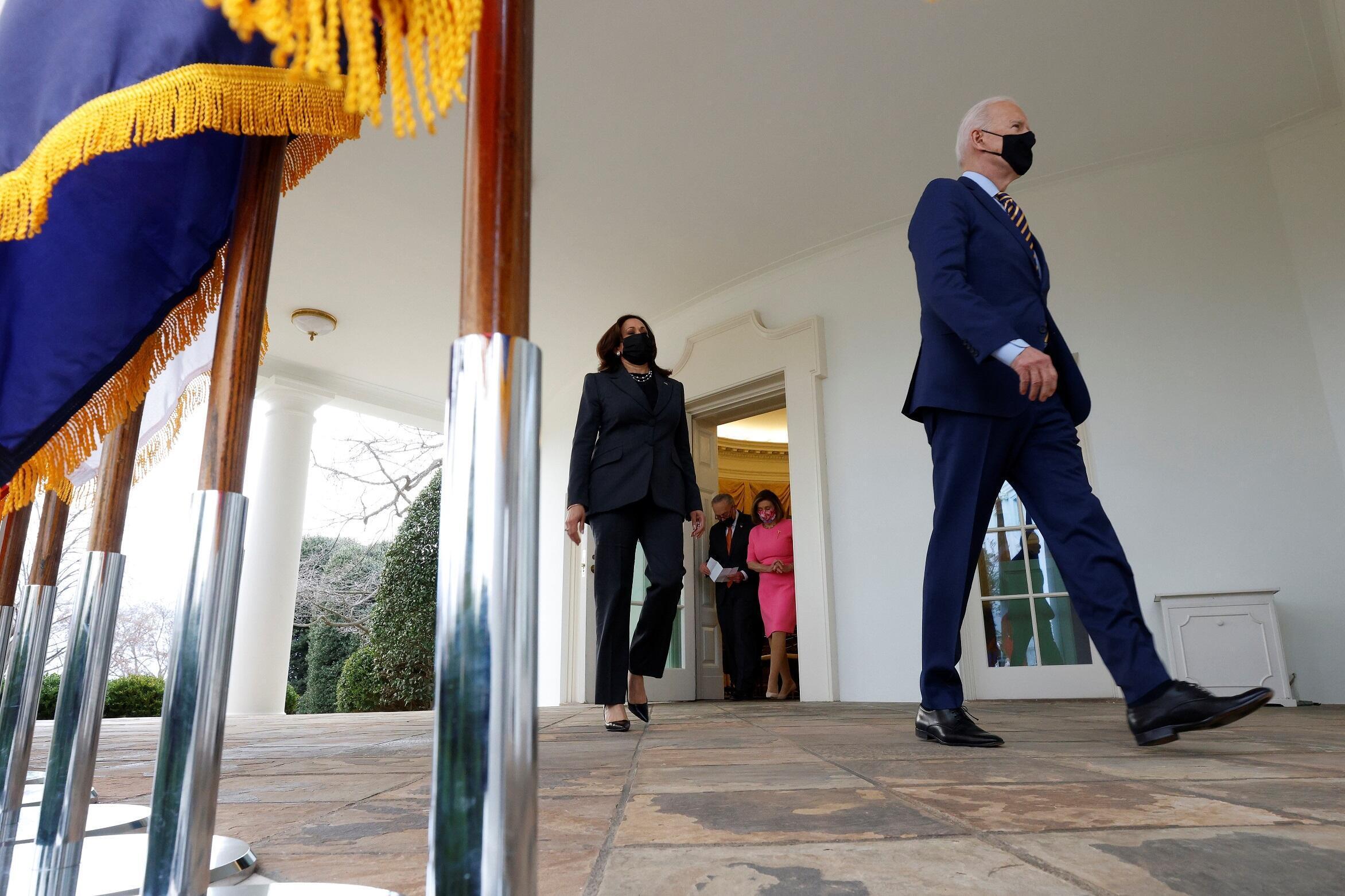 Joe Biden Kamala Harris Plan de relance