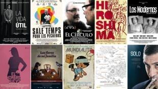 Las diez películas uruguayas que se presentarán este año en Biarritz, además de 'Compañeros'.