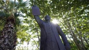 Etats-Unis - Texas - Juneteenth - statue émancipation esclaves - Général Gordon Granger AP20169674280421
