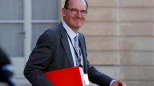 Jean Castex, le nouveau Premier ministre (ici photographié à l'Elysée le 19 mai 2020), a tenu une place importante dans les instances du sport français.