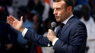 法國在美伊之間尋求平衡點--既要站在盟國一邊,又要說服伊朗遵守伊核協定。