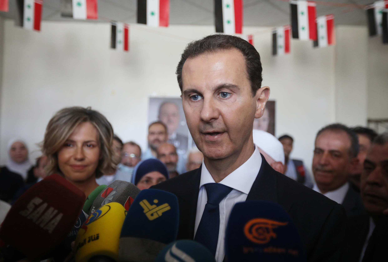 Bashar al-Assad shugaban Syria.