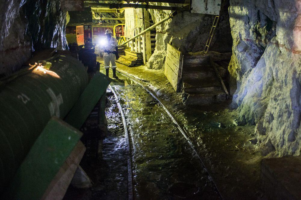 Nchanga copper mine in Chingola, Zambia