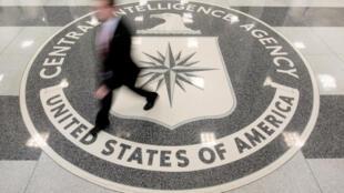 O hall de entrada da Agência de Inteligência Americana (CIA), em Langley, na Virgínia.