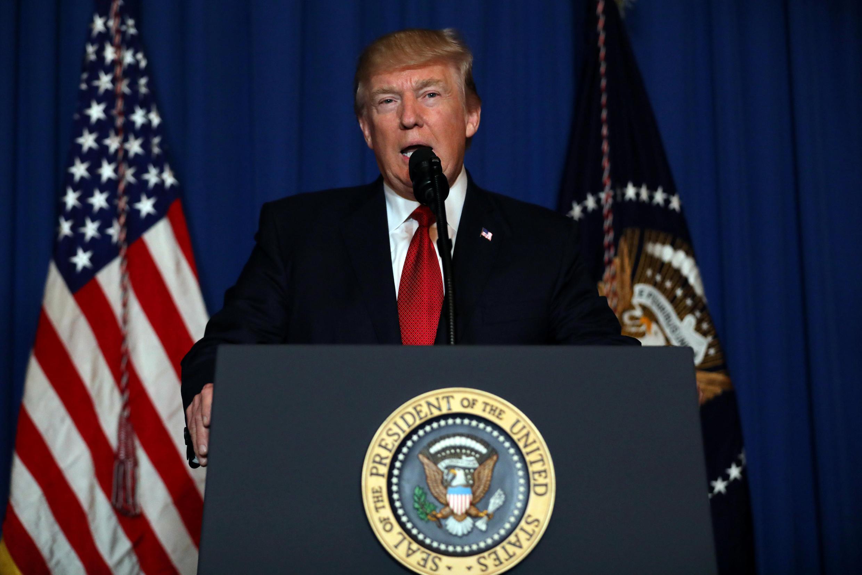 Depuis sa résidence de Mar-a-Lago, Donald Trump a affirmé que les Etats-Unis «défendent la justice», après une frappe punitive en Syrie.