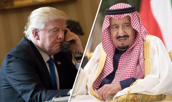 گفتگوی تلفنی دونالد ترامپ با ملک سلمان پادشاه عربستان سعودی