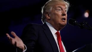 Le président des Etats-Unis, Donald Trump, le 24 février 2017, dans le Maryland.