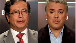 Gustavo Petro et Ivan Duque restent en lice pour la présidentielle du dimanche 17 juin.