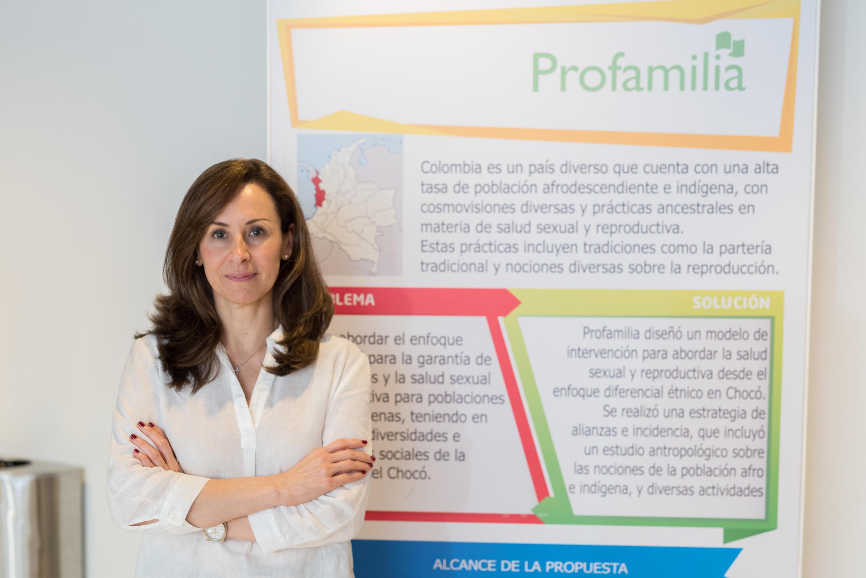 Marta Royo, executive director of Profamilia Columbia.