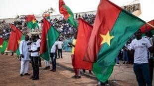 Rassemblement au stade Joseph Issoufou Conombo, à Ouagadougou, en soutien aux forces de défense et de sécurité en lutte contre le terrorisme, le 26 octobre 2019 (image d'illustration).