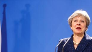Primeira-ministra britânica, Theresa May defendendo, em Munique, acordo de segurança com a União europeia