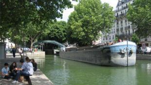 El Canal Saint-Martin.