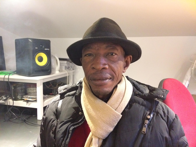 Le chanteur congolais Jupiter.