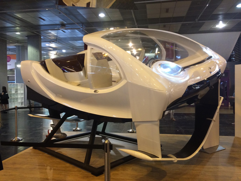 Sea Bubble em exposição na Viva Technology
