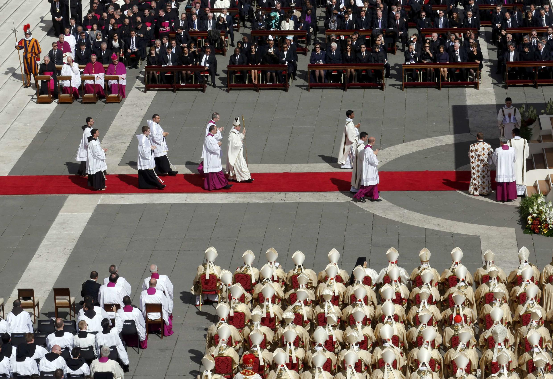 Lễ đăng quang của Đức Giáo Hoàng Phanxicô tại quảng trường Thánh Phêrô, Vatican, 19/03/2013