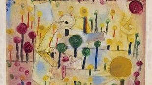 Fantastic abstract garden by Paul Klee