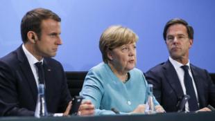 法國荷三國領導人資料圖片