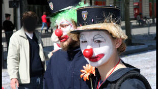 Clown activists