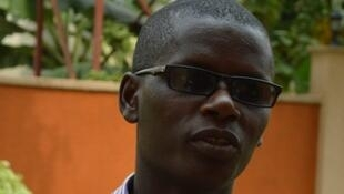 Jean Bigirimana, journaliste burundais qui travaille pour le journal Iwacu.