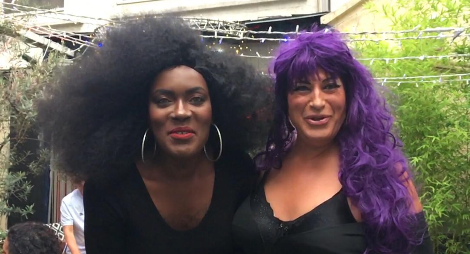 Cassie Brown e Lola Le Quetzal.