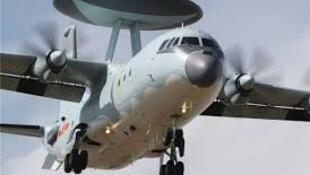 圖為疑似中國空軍空警500預警機