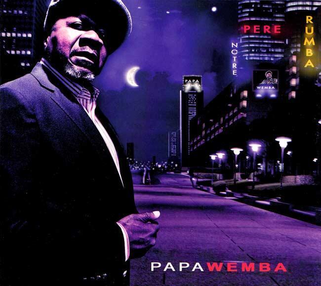 Papa Wemba, mkongwe wa rumba ya Kongo.