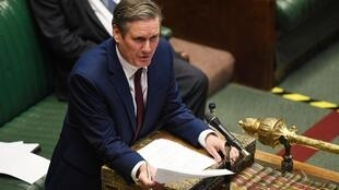 Keir Starmer, leader du parti travailliste au Parlement, le 13 mai 2020.