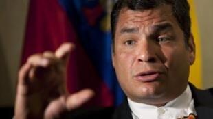 Rafael Correa pode ter seus poderes ampliados com a vitória no referendo.
