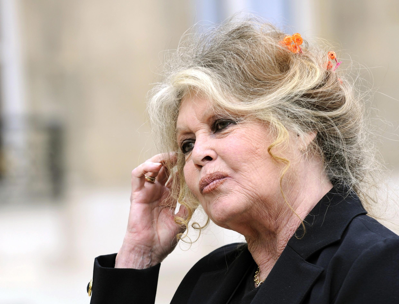 A atriz e ativista Brigitte Bardot, em foto de 2007.