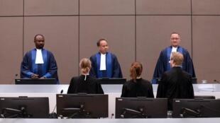 Les juges de la CPI à La Haye, en septembre 2016.