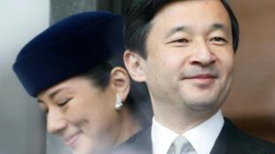 Naruhito y su esposa Masako en 2007.