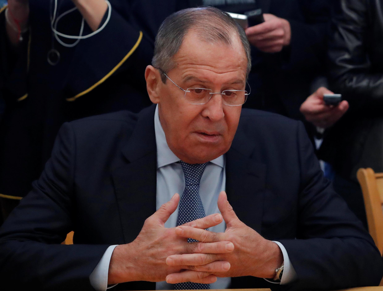سرگئی لاوروف وزیر امور خارجۀ روسیه