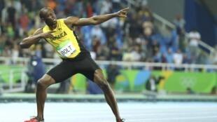 Dan gudun Famfalaki Usain Bolt