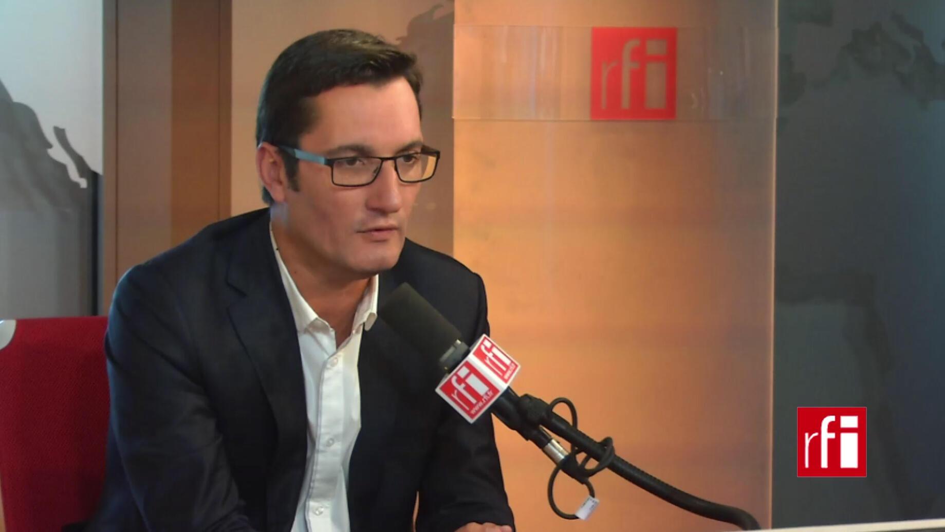 Olivier Dartigolles, porte-parole du PCF.