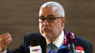 Waziri Mkuu wa Morocco Abdelilah Benkirane aliyeongoza ujumbe wa serikali ya Morocco nchini Mauritania.