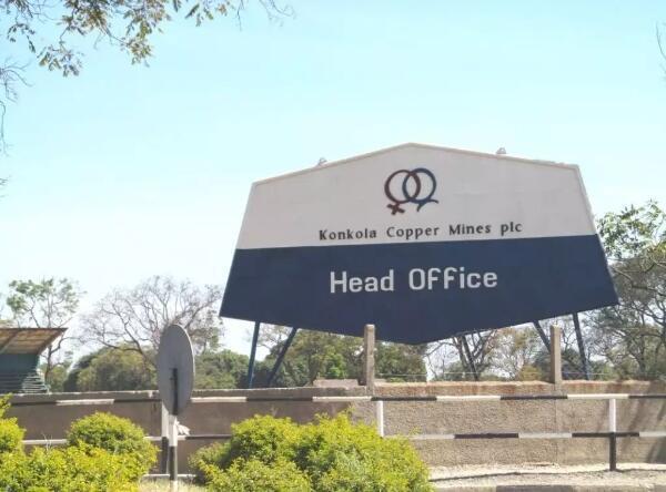 Konkola Copper Mines head office